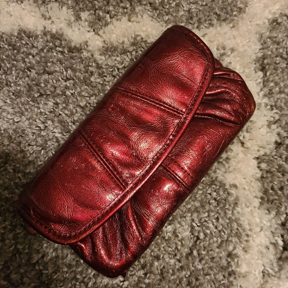 Miche Handbags - MICHE Bags deep red wallet